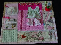 Busy Seamstress  Fidget Quilt Tactile  Bright by EndearingDignite, $40.00