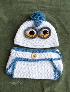 Minion Hat Baby Minion Hat Despicable Me Hat by TanglingThreads, $27.00