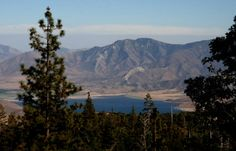 Lake Isabella as seen from Alta Sierra, CA