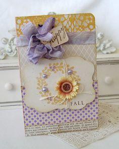 Happy Fall Handmade Card