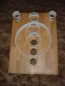 Backyard games 496803402647976052 - That's How I Roll! (Skeeball build) Source by malebolgianono Diy Yard Games, Outdoor Yard Games, Backyard Games, Outdoor Projects, Wood Projects, Woodworking Projects, Fun Games, Games For Kids, Party Games