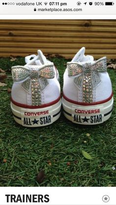 113 Best Bedazzled Converse images  22a18474c045