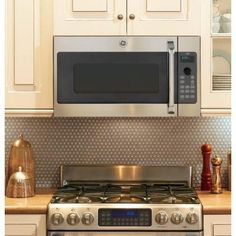 GE Cafe Advantium 120 1.7 cu. ft. Over the Range Microwave in Stainless Steel-CSA1201RSS - The Home Depot