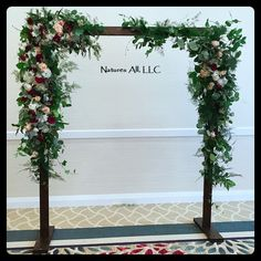 Wedding Arch/Wedding Arbor/Rustic Wedding Arch/Complete Kit/ Indoors Or Outdoors/Country Wedding Backdrop/Dark Walnut/Shipping Included Wood Wedding Arches, Wedding Arbor Rustic, Wedding In The Woods, Our Wedding, Arch Wedding, Wedding Ideas, Wedding Bouquets, Wedding Flowers, Rock Decor