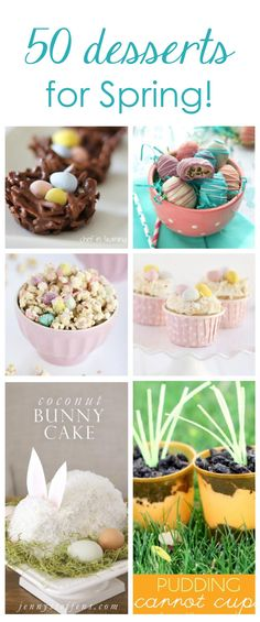 Top 50 Easter Desserts!