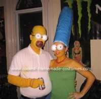 home and marge simpson halloween costume this simpson halloween costumes was the product of unemployment weeks before halloween i began strategizing and - Easy Halloween Costumes From Home