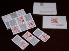 AS Salcon - Tripple Split Business Card by BlickeDeeler | #Business #Card #letterpress #creative #paper #bizcard #businesscard #corporate #design #visitenkarte #corporatedesign < pinned by www.BlickeDeeler.de