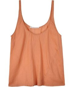 Peach Cotton Basic Tank by All That Remains.