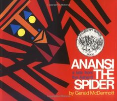 Anansi the Spider by Gerald McDermott. In trying to determine which of his six sons to reward for saving his life, Anansi the Spider is responsible for placing the moon in the sky. Trickster Tales, Spider Book, Spider Art, Music Classroom, Classroom Ideas, Elementary Music, Upper Elementary, Teaching Music, Preschool Music
