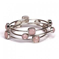 Trendy Stackable Bangle Bracelets (set of 3)