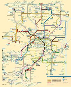 Official Map: Bus and Tram Network Map, Strasbourg, France