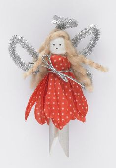 Wooden Dolly pegs - Christmas Fairy - Project - The Spotlight Inspiration Room | Australia