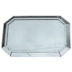 Large mid 20th century Venetian style octogonal mirror   From a unique collection of antique and modern wall mirrors at http://www.1stdibs.com/furniture/mirrors/wall-mirrors/