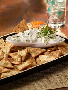 Serve this tasty Parmesan Dip recipe with Town House Pita Crackers for an irresistible appetizer all your party guests will enjoy.