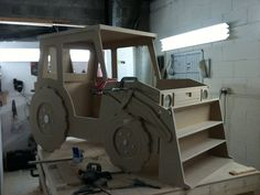 Road Digger Hand Crafted Themed Bed