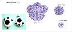 tutoriales para hacer llaveros de crochet - Buscar con Google