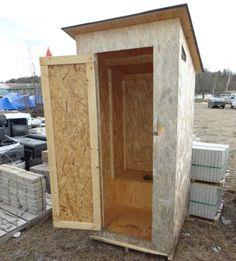 Resultado de imagen para outhouse plan images