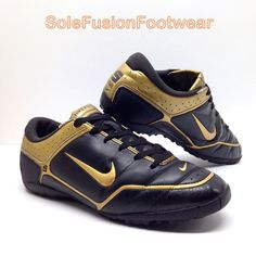 Nike Mens Astro Turf Football Trainers Black sz 9 First Touch Soccer  Sneakers 44 826218017988  5ab9eb02c86d0
