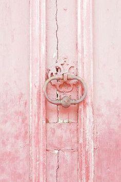 Pink Door, Provence, France by Mich Lancaster - design inspiration Couleur Rose Quartz, Rose Quartz Color, Pink Love, Pretty In Pink, Blush Pink, Pink Beige, Color Rosa, Pink Color, Purple