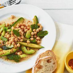 ESSEN & TRINKEN - Kichererbsen-Avocado-Salat Rezept