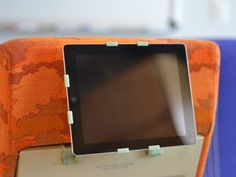 Arctic Flight (iPad stand/cover fits airline tray-table) by Arctic Innovations, via Kickstarter.