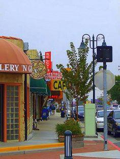 Tehachapi main street.
