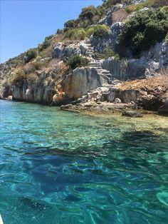 SaklıKent, Village, Summer, Sea, Ancient City, Kaş, Antalya