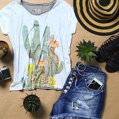 Look de sábado: cactus  #shoulderoficial #cactus #lookdodia