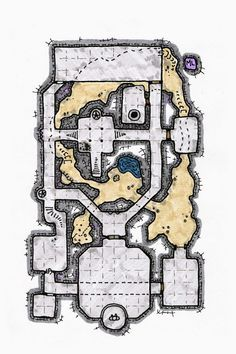 small colored dungeon