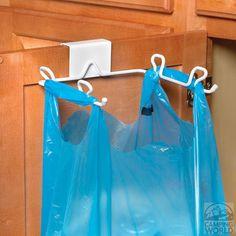 Over Cabinet/Drawer Trash Bag Holder - Spectrum Diversified Designs 65400CWI - Space Savers - Camping World