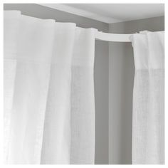 IKEA VIDGA Corner piece, single track When considering to master bedroom interior decoration strategies, some Corner Curtains, Luxury Curtains, Cheap Curtains, Drop Cloth Curtains, Long Curtains, Green Curtains, Floral Curtains, How To Make Curtains, Rustic Curtains