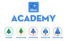 PYB (Plus Your Business) Academy Badges 5 Levels for #SocialMedia and #GooglePlus
