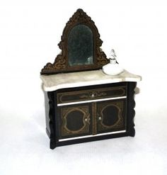 Boulle Marble-top Chest