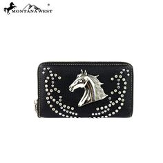 Montana West Horse Collection Western Women's Wallet
