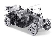 1908 Ford Model T: Metal Earth 3D Laser Cut Car Miniature Model Kit 2 sheets #MetalEarth
