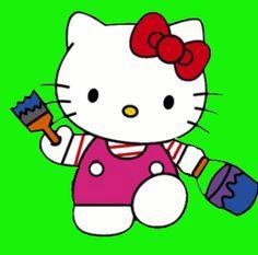 hello kitty emojicons | hello kitty hello kitty strijkkralen kleurplaten traktatie bouwplaat ...