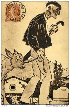 Postcards > Topics > Folklore / basque - Delcampe.com