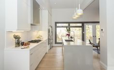 After: Kitchen. The Property Bros./John and Diana episode. Think this is my absolute fave of all the renos they've done!