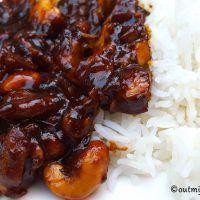 recept cashew kip slow cooker