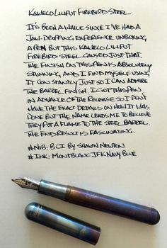 This is one of my favorite pocket carries! Fountain Pen Reviews, Fountain Pen Ink, Fountain Pen Drawing, Life Journal, Nature Journal, Journal Ideas, Dog Pen, Pencil Design, Best Pens