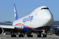 Nippon Cargo Airlines Boeing 747-800