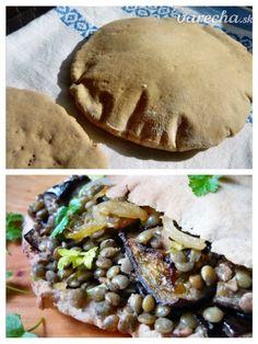 Pita chlieb - placky (fotorecept) - recept | Varecha.sk Tacos, Mexican, Ethnic Recipes, Food, Basket, Essen, Meals, Yemek, Mexicans