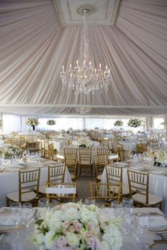 Wonderful Wedding Tent Ideas For A White Wedding ❤ See more: http://www.weddingforward.com/wedding-tent/ #weddings