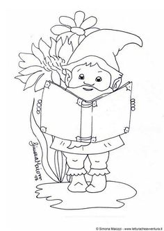 Woodland party may 17 2014 about 2pm tea party on for Coloring pages gnomes