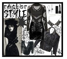 """""""Rocker Style"""" by giovanina-001 ❤ liked on Polyvore featuring Jean-Paul Gaultier, Topshop, Spallanzani, Chicnova Fashion, Lucky Brand, Ardency Inn, Kat Von D, rockerchic and rockerstyle"""