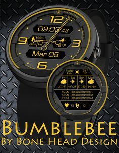 Bumblebee  watch face preview