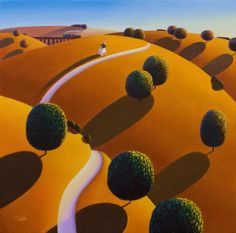 Untitled study 24 Painting by Paul Corfield