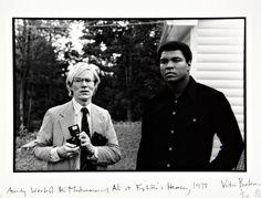 Andy Warhol & Muhammed Ali  www.hotelsantmiquel.com  hotel ordino andorra