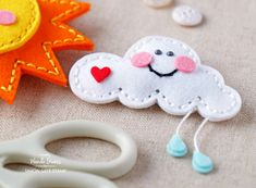 Simon Says Stamp PLUSH LITTLE CLOUD Wafer Dies S382 Spring Plush Preview Image