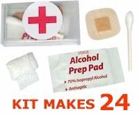 From Makingfriends.com!  Fill our itty bitty first aid kits with supplies and swap with pride. Kit includes free first aid supplies. No coupon needed.